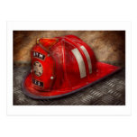 Fireman - Hat - A childhood dream Postcards