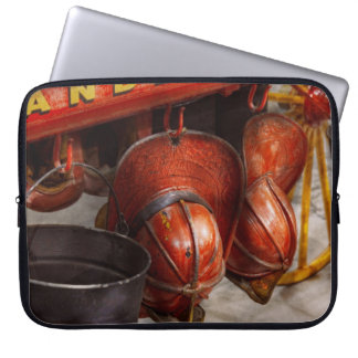 Fireman - Hats - I volunteered for this Laptop Sleeve