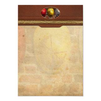 Fireman - Hats - Pick a hat, any hat 5x7 Paper Invitation Card