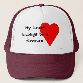 Fireman Heart Hat