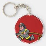 Fireman Key Chain