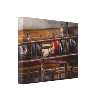 Fireman - Ladder Company 1 Canvas Print
