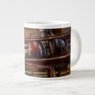 Fireman - Ladder Company 1 Large Coffee Mug