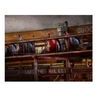 Fireman - Ladder Company 1 Postcard