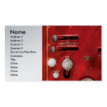 Fireman - Lever's and Valves Business Card Templates