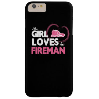 Fireman Lover Barely There iPhone 6 Plus Case