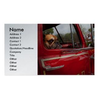 Fireman - Mack  Business Card Template