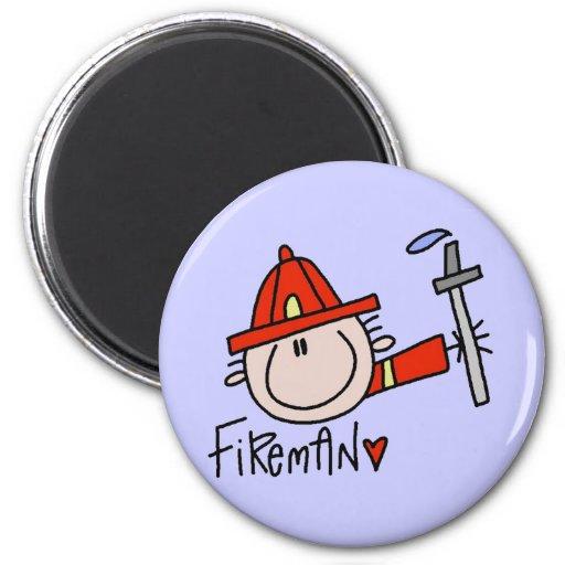 Fireman Magnet Magnet