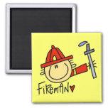 Fireman Magnet Refrigerator Magnets