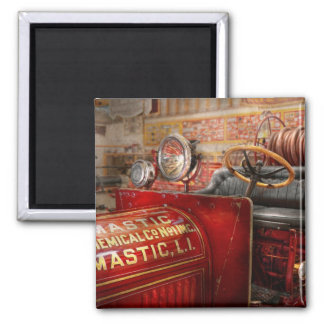 Fireman - Mastic chemical co 2 Inch Square Magnet