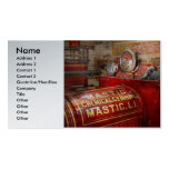 Fireman - Mastic chemical co Business Card Template