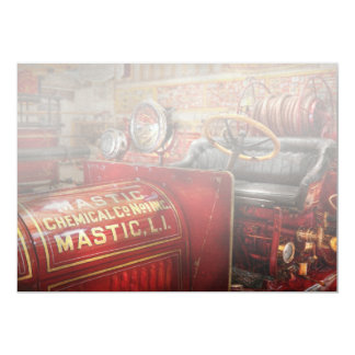 Fireman - Mastic chemical co Personalized Invitation