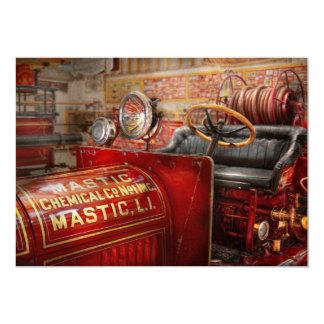 Fireman - Mastic chemical co Custom Announcement