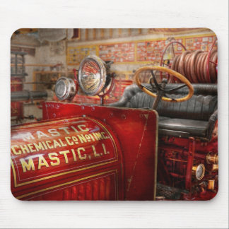 Fireman - Mastic chemical co Mouse Pad