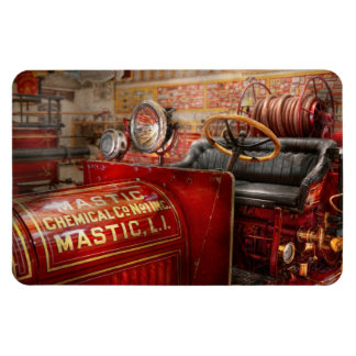 Fireman - Mastic chemical co Rectangular Magnets