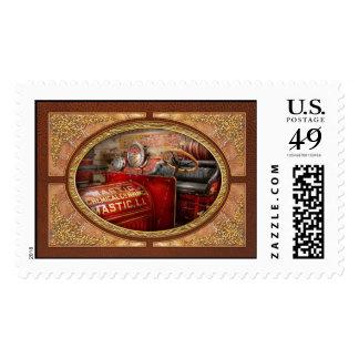 Fireman - Mastic chemical co Stamp