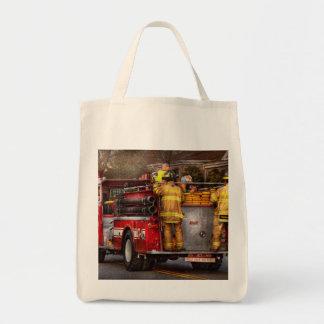 Fireman - Metuchen Fire Department Grocery Tote Bag