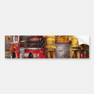 Fireman - Metuchen Fire Department Bumper Sticker