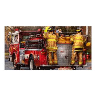 Fireman - Metuchen Fire Department Card