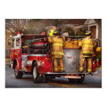 Fireman - Metuchen Fire Department Card