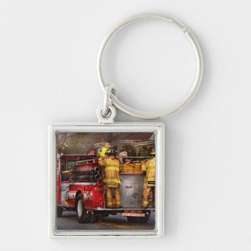 Fireman - Metuchen Fire Department Key Chain