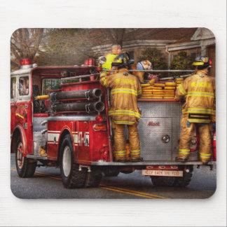 Fireman - Metuchen Fire Department Mouse Pad