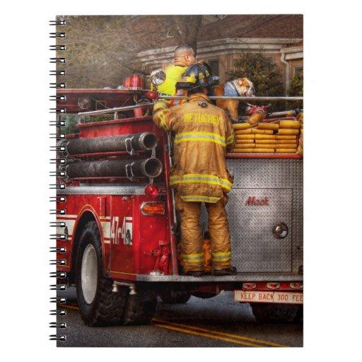 Fireman - Metuchen Fire Department Notebook