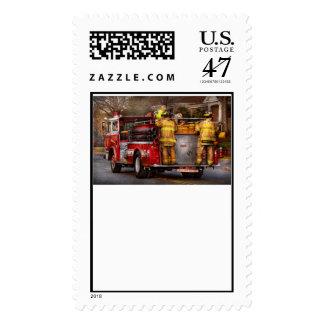 Fireman - Metuchen Fire Department Postage Stamp