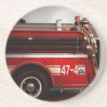 Fireman - Metuchen, NJ - Always on call Drink Coasters