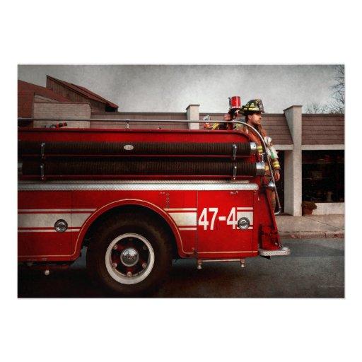 Fireman - Metuchen, NJ - Always on call Custom Invite
