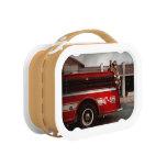 Fireman - Metuchen, NJ - Always on call Yubo Lunchboxes