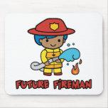 Fireman Mouse Pad