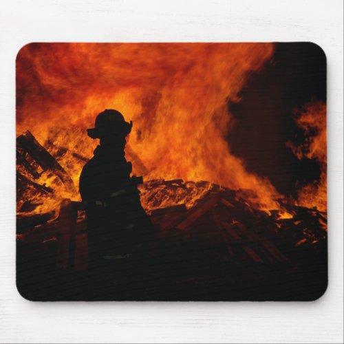 Fireman Mousepad mousepad