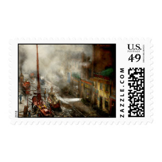 Fireman - New York NY - Big stink over ink 1915 Postage