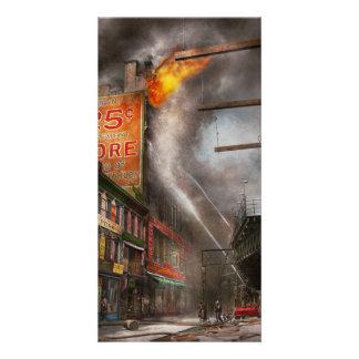 Fireman - New York NY - Show me a sign 1916 Card