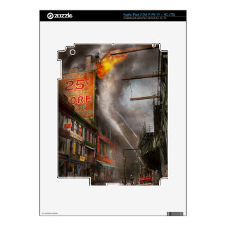 Fireman - New York NY - Show me a sign 1916 iPad 3 Decals