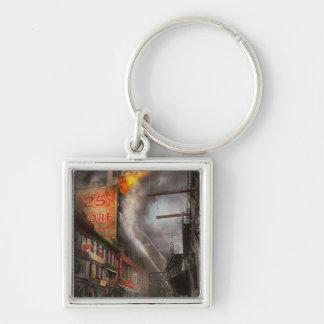 Fireman - New York NY - Show me a sign 1916 Keychain