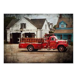 Fireman - Newark fire company Invitations
