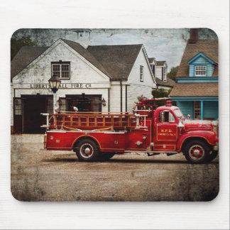 Fireman - Newark fire company Mouse Pad