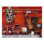 Fireman - Old Fashioned Controls Personalized Flyer