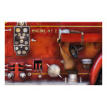Fireman - Old Fashioned Controls Personalized Stationery