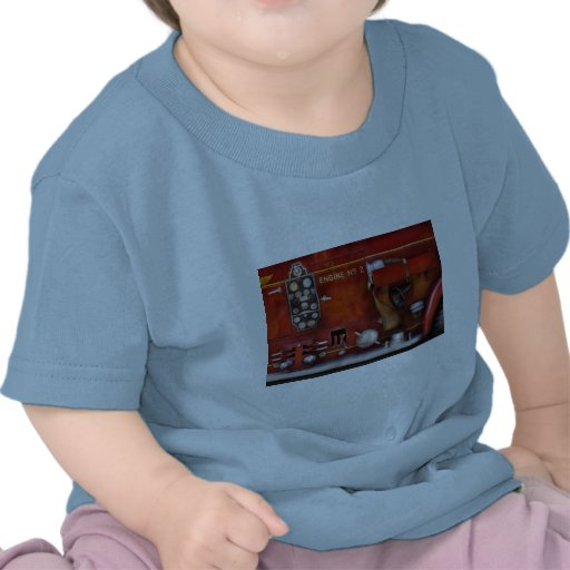 Fireman - Old Fashioned Controls T-shirt