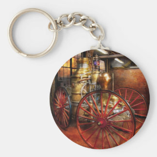 Fireman - One day, a long time ago Keychain