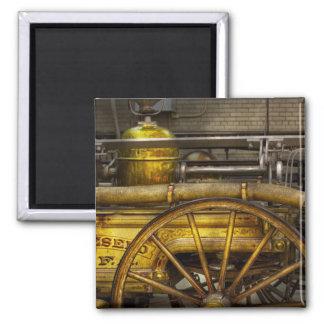 Fireman - Piano Engine - 1855 Fridge Magnet