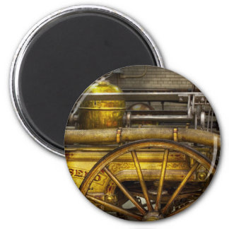 Fireman - Piano Engine - 1855 Fridge Magnets