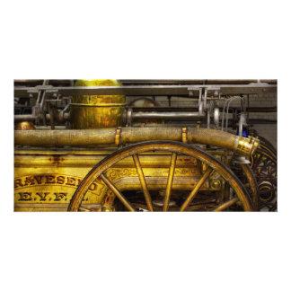 Fireman - Piano Engine - 1855 Photo Greeting Card