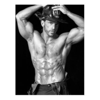 Fireman Postcard 2