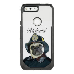 OtterBox Google 5 with Pug Phone Cases design