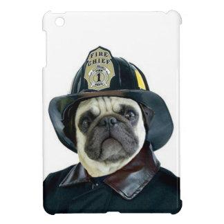 Fireman pug dog iPad mini cases