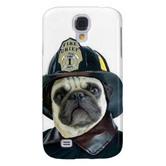 Fireman Pug dog iPhone 3G/3GSSpeck Case Galaxy S4 Case